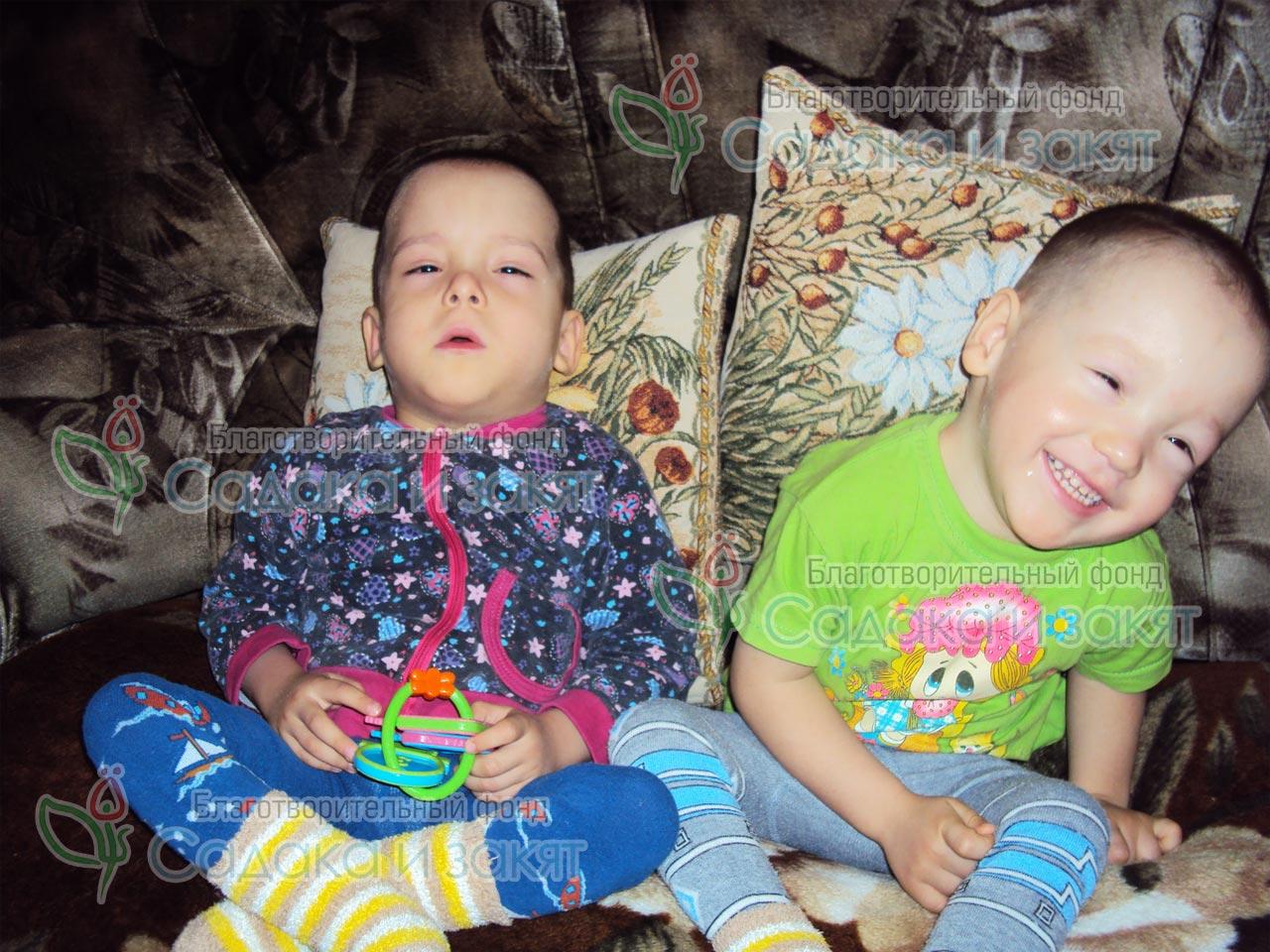 Хаертдиновы Тимур и Айнур
