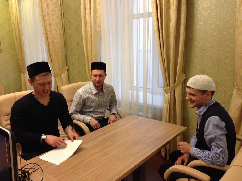 Встреча в Дискуссионном клубе мусульманской молодежи