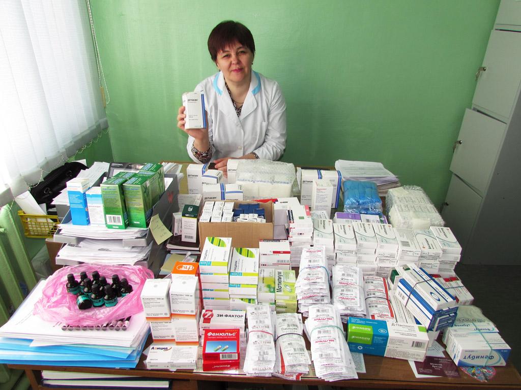 Лекарства детям!