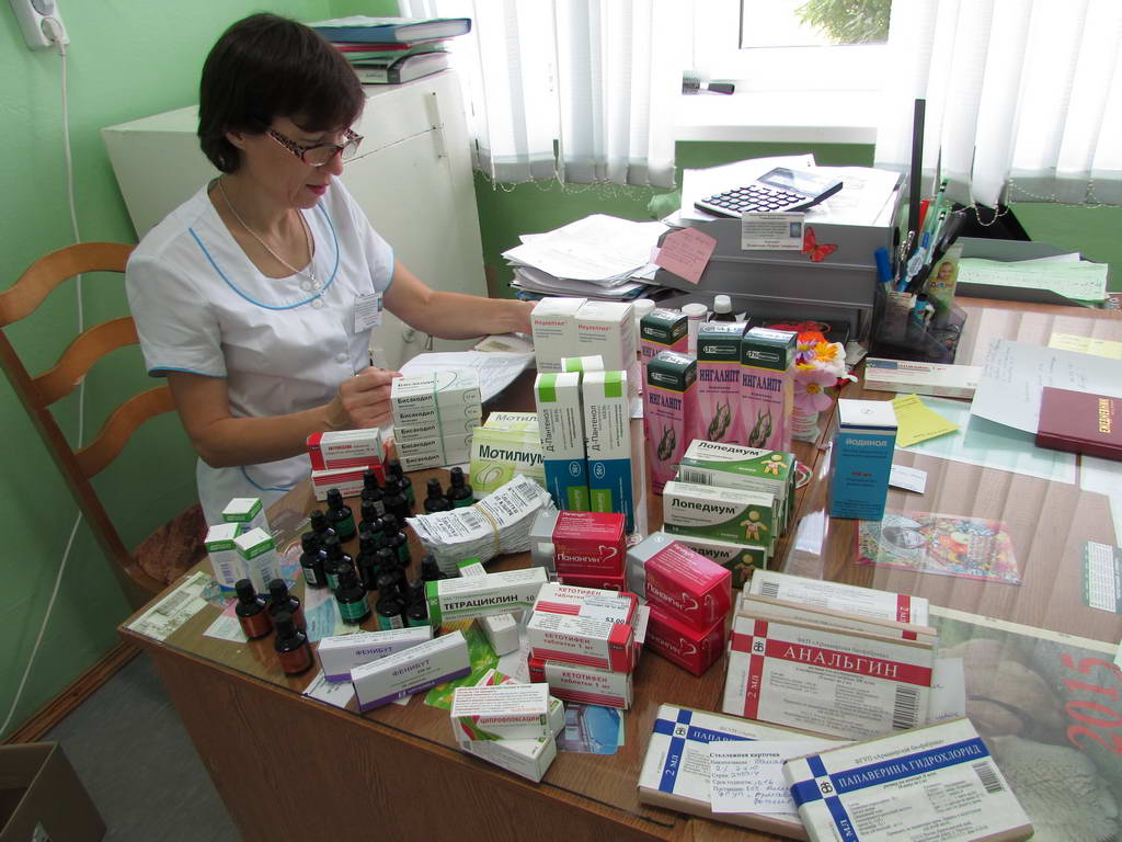 Медикаменты для Максимовского детдома