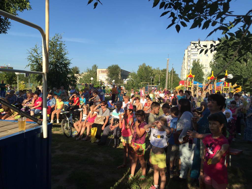 День соседа в Сквере «Олимпийский»