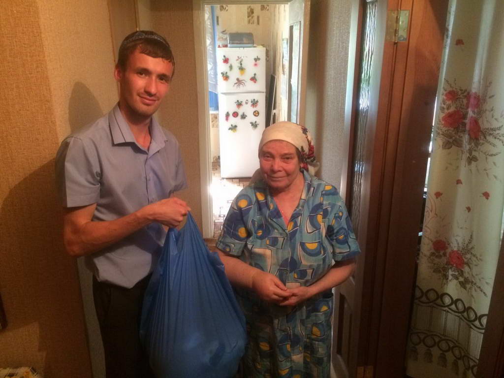 Продуктовые наборы для малоимущих людей г. Ульяновска