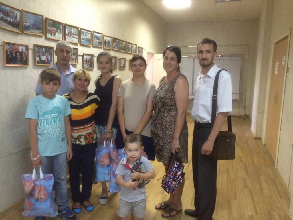 Канцтовары детям Ленинского района г. Ульяновска