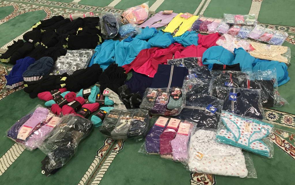 Одежда для Максимовского детдома
