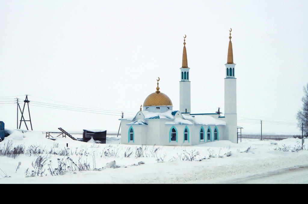 Напольная плитка для строящейся мечети в с. Ундоры