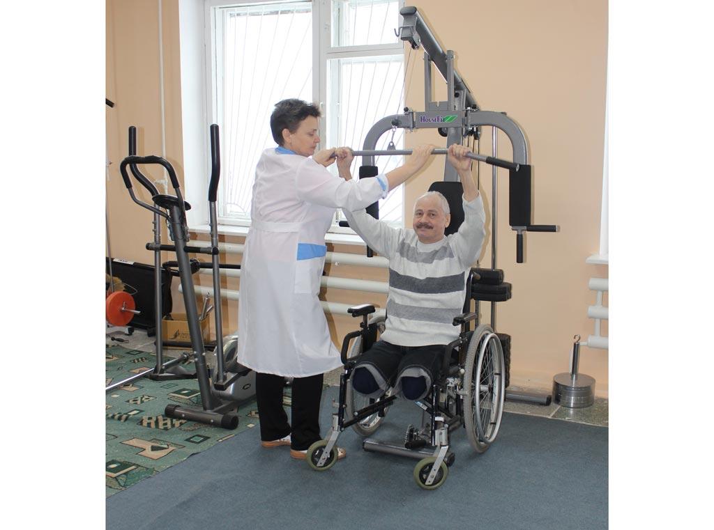 Помощь димитровградскому обществу инвалидов