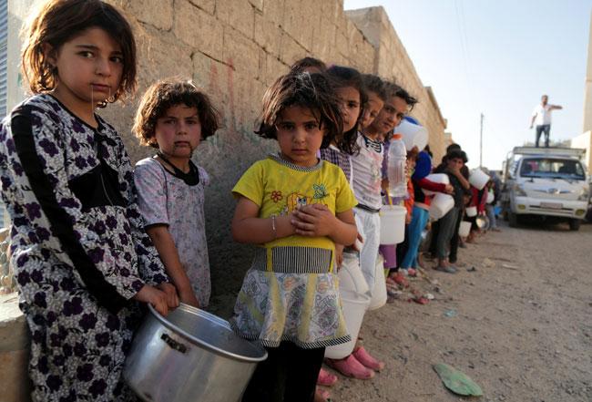 Фонд «Садака и закят» взял под опеку семь сирийских сирот