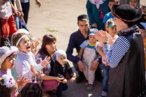 Праздничные мероприятия в честь Курбан-байрам