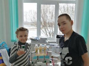 Партия медикаментов для Максимовского детдома