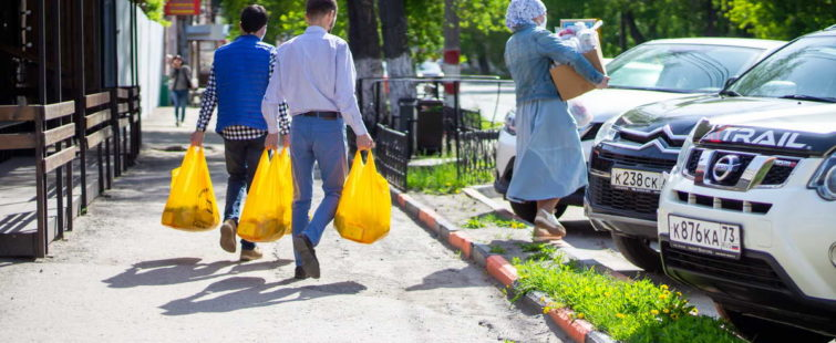 Ифтар-марафон в Ульяновске прошел