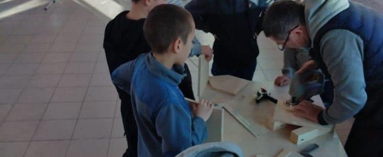 Мастер-класс по изготовлению кормушек для птиц