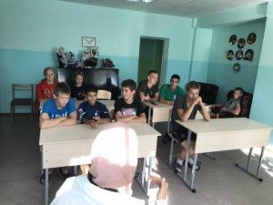 Выездная встреча в Ивановском детском доме